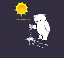Global Warming Sucks Polar Bear T-Shirt