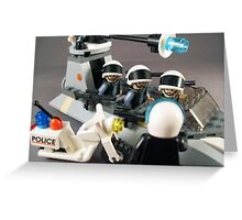 License And Registration Please... Greeting Card