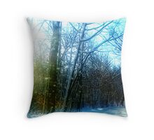 December Road Throw Pillow