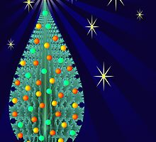 Fractal Christmas Tree by bubblenjb