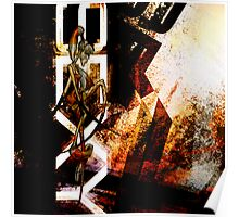 Romantus Distressed Collection: Kitten Poster