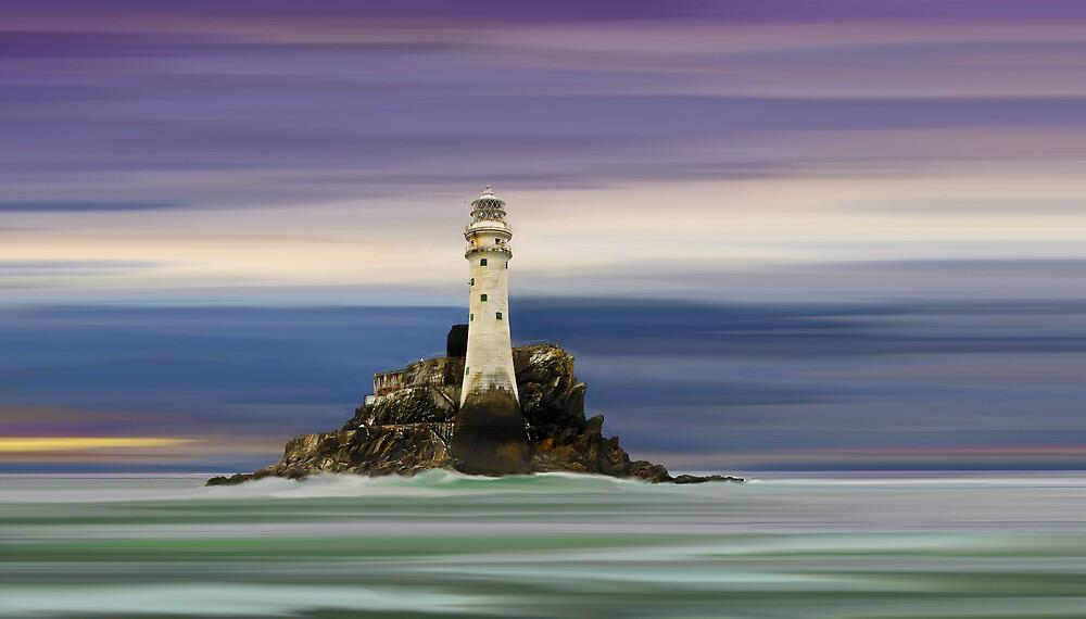 Fastnet Lighthouse by bluefinart