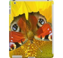 Peacock on Sunflower iPad Case/Skin