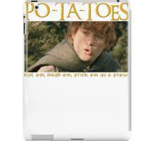 PO-TA-TOES iPad Case/Skin