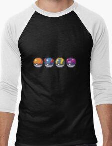 Pokeballs Men's Baseball ¾ T-Shirt