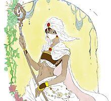 White Mage Minwu by suzuriheinze