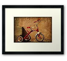 Radio Flyer Tricycle Framed Print