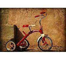 Radio Flyer Tricycle Photographic Print