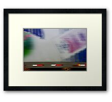 What the....? Framed Print