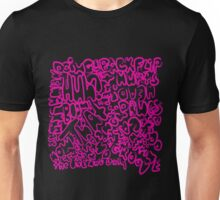 Words_pink Unisex T-Shirt