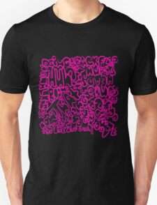 Words_pink T-Shirt