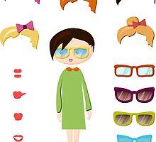 girl fashion set by OlgaBerlet