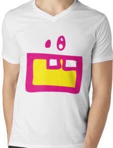 Monster_three Mens V-Neck T-Shirt
