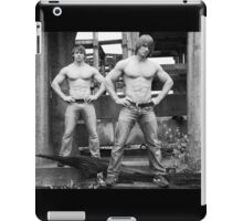 Two In A Row iPad Case/Skin
