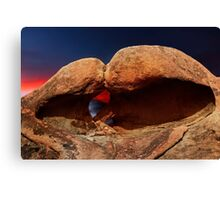 Heart Arch in the Alabama Hills. Canvas Print