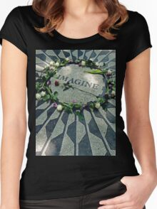 Imagine Tribute Women's Fitted Scoop T-Shirt