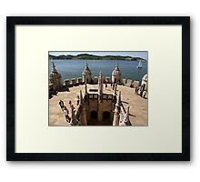 The View from Belem Tower Framed Print