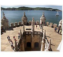 The View from Belem Tower Poster