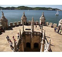 The View from Belem Tower Photographic Print