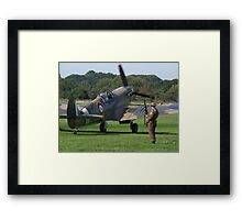 It`s A Squadron Scramble !!!! Framed Print