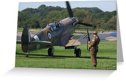 It`s A Squadron Scramble !!!! by Colin  Williams Photography