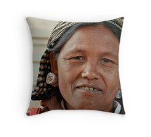 Wa Lady 1 Throw Pillow