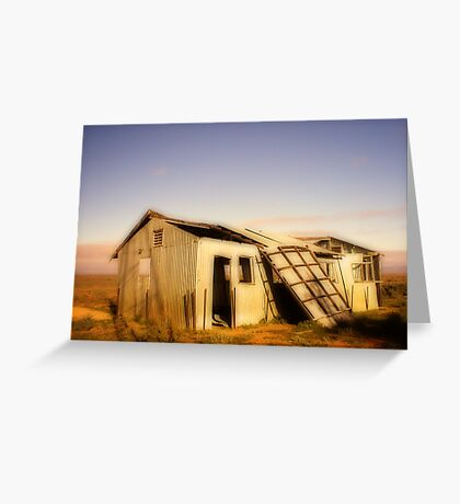 Tumble Down Shed Greeting Card