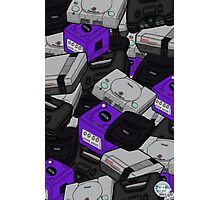 Videogame Console Pattern Photographic Print