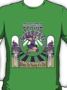 Roller Derby Nouveau: The Massacre of Spring (English) T-Shirt