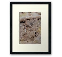 Volcano fumarole, Nisyros Framed Print