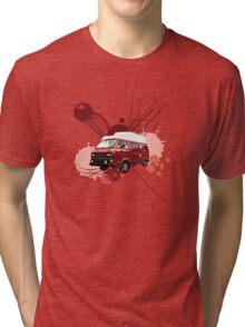 T3 Transporter Van (High Top) Tri-blend T-Shirt
