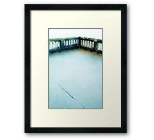 Short walk Framed Print