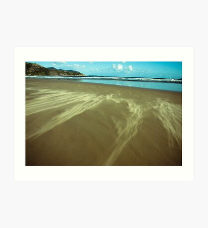 sand clouds Art Print