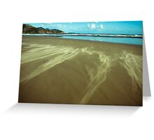 sand clouds Greeting Card