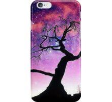 Nature Galaxy Nebula Tree iPhone Case/Skin