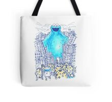 Moster In The City Tote Bag