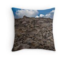 White Peak Throw Pillow