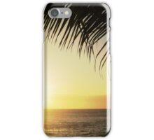 Coucher de soleil iPhone Case/Skin