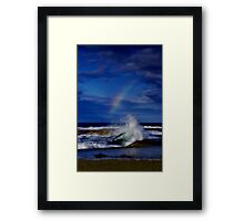 """Rainbow Break"" Framed Print"