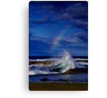 """Rainbow Break"" Canvas Print"