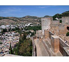 The Alhambra, Granada, Spain Photographic Print
