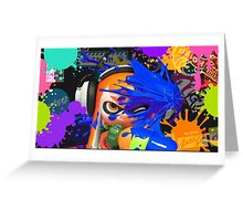 Splatoon iPhone Case Greeting Card