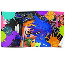 Splatoon iPhone Case Poster