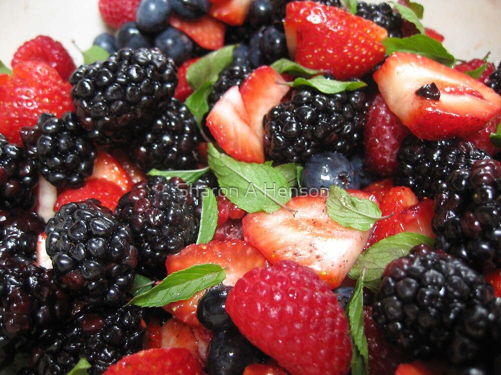 The Four Berry Salad by Sharon A. Henson