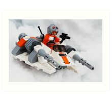 The Battle For Hoth Art Print