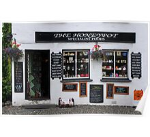 Shop in Hawkshead    -   Lake District Poster