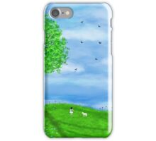 Summer illustration iPhone Case/Skin