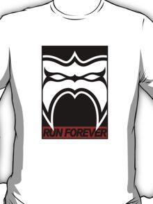 Run Forever Black & White T-Shirt