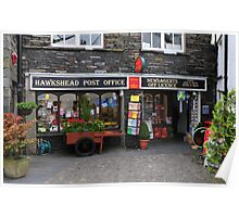 Hawkshead Post Office -  Lake District Poster