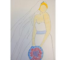 Wedding Dress No 8 Photographic Print